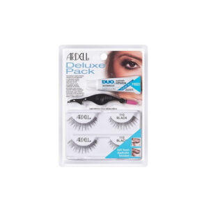 ARDELL Ardell Deluxe Pack Lashes 110 Black Set 4 Parti
