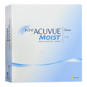 ACUVUE Acuvue Moist Contact Lenses 1 Day Replacement -2.50 BC/8.5 90 Unità