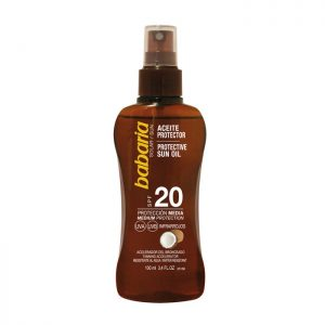 BABARIA Babaria Coconut Tanning Oil Spray Spf20 100ml