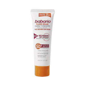 BABARIA Babaria Face And Neck Sun Cream Anti Spot Wrinkle Spf50 75ml